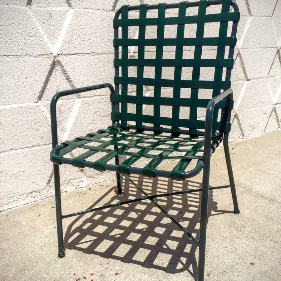 Patio Furniture Chair- Vinyl Strapping