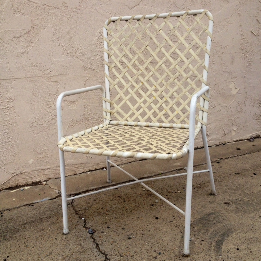 Patio Furniture Chair Repair Vinyl Strapping