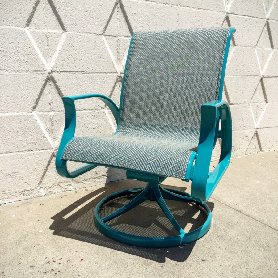 Refinish Patio Furniture Chair
